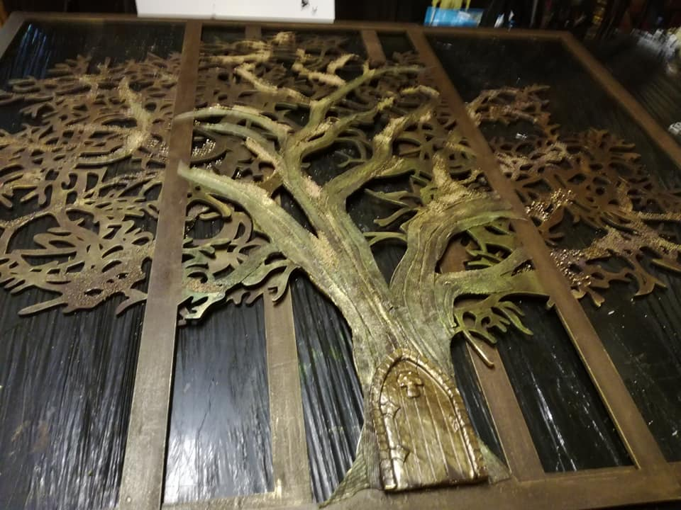 Finished Tree Panel